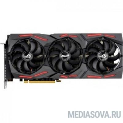 Видеокарта Видеокарта Asus PCI-E 4.0 ROG-STRIX-RX5700XT-O8G-GAMING AMD Radeon RX 5700XT 8192Mb 256bit GDDR6 1840/14000/HDMIx1/DPx3/HDCP Ret