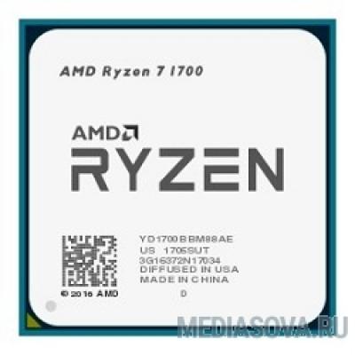 Процессор CPU AMD Ryzen 7 1700 OEM 3.7GHz, 20MB, 65W, AM4