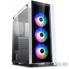 Deepcool MATREXX 55 V3 ADD-RGB WH 3F ATX, RGB  ATX, RGB strip, Стекл. фронтальная и боковая панели, 3RGB fans,Без БП