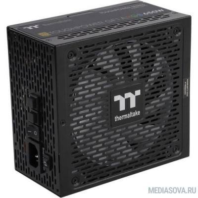 Блок питания Блок питания Thermaltake ATX 650W Toughpower GF1 ARGB 80+ gold (24+4+4pin) APFC 140mm fan color LED 9xSATA Cab Manag RTL