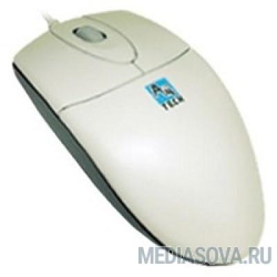 A4Tech OP-720 White USB,пров. опт. мышь, 2кн, 1кл-кн [557240]