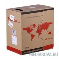 Telecom Кабель Ultra UTP кат.5e многожильный 4X2X7 (305м) (0.20mm) (TUM34702E/TUM34102E) [6937510885787]