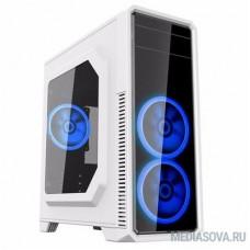 GameMax [G561-White] без БП (Midi Tower, ATX White, Blue Led)