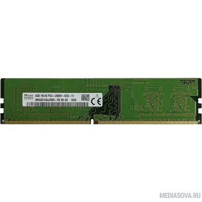 Оперативная память  Память DDR4 4Gb 2666MHz Hynix HMA851U6JJR6N-VKN0 OEM PC4-21300 DIMM 288-pin 1.2В single rank