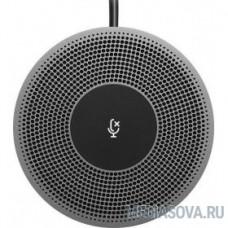 989-000405 Logitech Микрофон проводной MeetUp 6м черный
