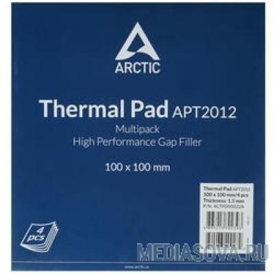 Термопрокладка Thermal pad Basic 100x100 mm/ t:1.5 Pack of 4   (ACTPD00022A)