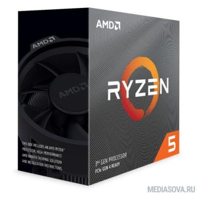 Процессор CPU AMD Ryzen 5 3600X BOX 3.8GHz up to 4.4GHz/6x512Kb+32Mb, 6C/12T, Matisse, 7nm, 95W, unlocked, AM4