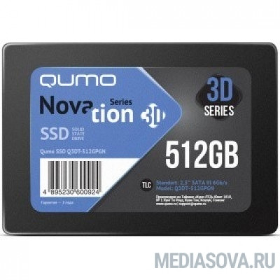QUMO SSD 512GB QM Novation Q3DT-512GPGN OEM SATA3.0