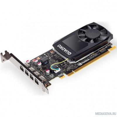 Видеокарта Видеокарта Dell PCI-E Quadro P1000 nVidia Quadro P1000 4096Mb 128bit GDDR5/mDPx4 oem [490-BDXN]
