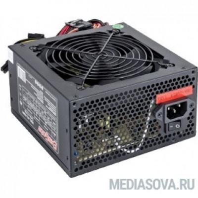 Блок питания Exegate EX224732RUS-S Блок питания 400W Exegate 400NPX, ATX, SC, black, 12cm fan, 24p+4p, 6/8p PCI-E, 3*SATA, 2*IDE, FDD + кабель 220V с защитой от выдергивания