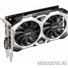 Видеокарта MSI PCI-E GTX 1650 D6 VENTUS XS OC nVidia GeForce GTX 1650 4096Mb 128bit GDDR6 1485/8000 DVIx1/HDMIx1/DPx1/HDCP Ret