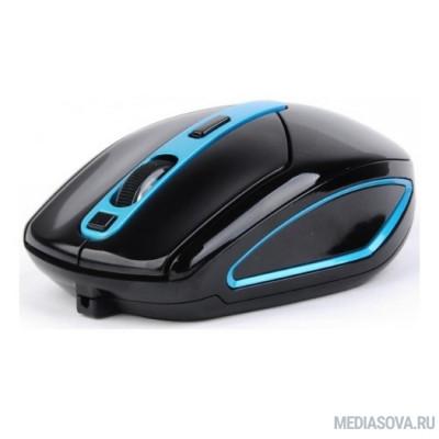 A4Tech V-Track G11-590FX черный/синий оптическая (2000dpi) беспроводная USB (6but) мышь [1134500]