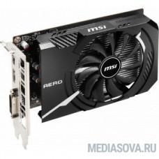 Видеокарта MSI PCI-E GTX 1650 D6 AERO ITX OC nVidia GeForce GTX 1650 4096Mb 128bit GDDR6 1485/8000 DVIx1/HDMIx1/DPx1/HDCP Ret
