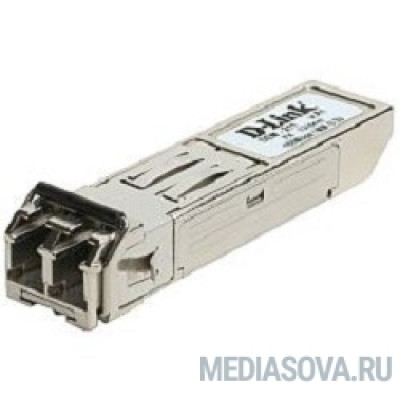 D-Link 211/A1A SFP-трансивер с 1 портом 100Base-FX для многомодового оптического кабеля (до 2 км)