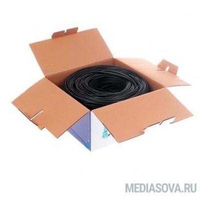 SkyNet Кабель UTP outdoor 4x2x0,48, медный, FLUKE TEST, кат.5e, однож., (305м) box, черный [CSS-UTP-4-CU-OUT]