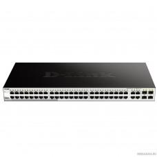D-Link DGS-1210-52/FL1A Управляемый коммутатор 2 уровня с 48 портами 10/100/1000Base-T и 4 комбо-портами 100/1000Base-T/SFP