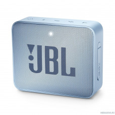 Портативная колонка JBL GO 2 да Цвет голубой 0.184 кг JBLGO2CYAN