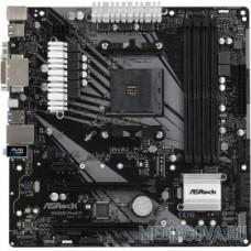 ASROCK B450M PRO4-F RTL AMD B450, 2xPCI-E, Dsub+DVI+HDMI, GbLAN SATA MicroATX, 4DDR4