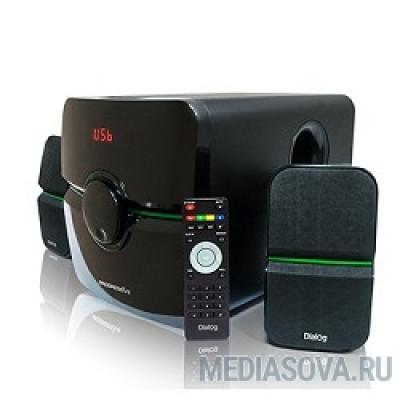 Dialog Progressive AP-203 BLACK 2.1, 18W+2*10W RMS, USB+SD reade