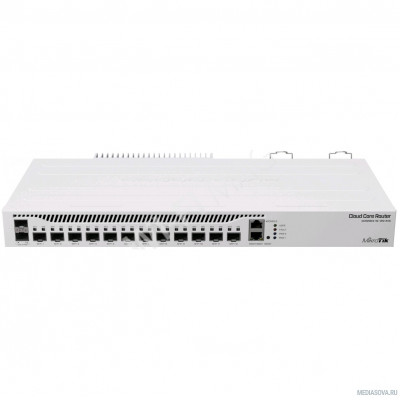MikroTik CCR2004-1G-12S+2XS The Connectivity Router 12 x 10G SFP+ and 2 x 25G SFP28 ports.