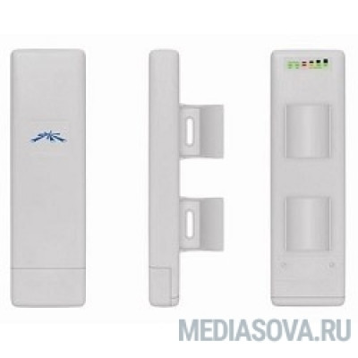 UBIQUITI NSM2 NanoStation M2 Точка доступа Wi-Fi, Рабочая частота 2412-2462 МГц, Усиление 10,4 - 11,2 dBi