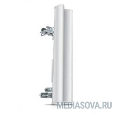 UBIQUITI AM-2G15-120 внешняя секторная MIMO 2x2, 15 дБ, 2,3-2,7 ГГц, 120°x9°, 2* RP-SMA (волны вертикальные/горизонтальные)