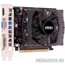 MSI  N730-4GD3 nVidia GeForce GT 730 4096Mb 128bit DDR3 750/1000 DVIx1/HDMIx1/CRTx1/HDCP Ret