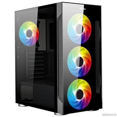 Ginzzu CL280 FAN 12CM RGB*4 USB3.0 Window