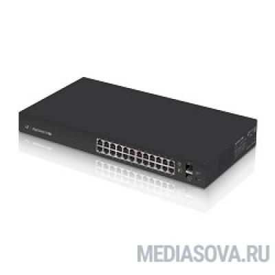 UBIQUITI ES-24-Lite 24-х портовый гигабитный свитч с тихой системой охлаждения