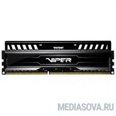 Patriot DDR3 DIMM 8GB (PC3-12800) 1600MHz PV38G160C0 Viper3