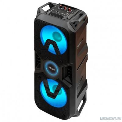 Ginzzu GM-207, Акустическая система, Midi RGB/BT/USB/TF/FM/ДУ