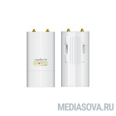 UBIQUITI RocketM2 Точка доступа Wi-Fi, AirMax, 2x RP-SMA, 2x2 MIMO, Рабочая частота 2412-2462 МГц, Выходная мощность 29 дБм