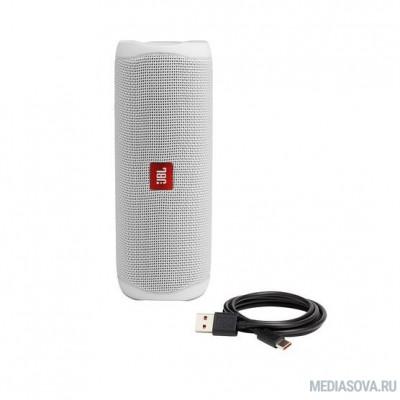 Портативная акустическая система JBL Flip 5 белая
