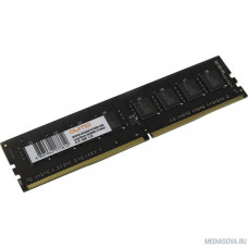 QUMO DDR4 DIMM 4GB QUM4U-4G2666C19 PC4-21300, 2666MHz