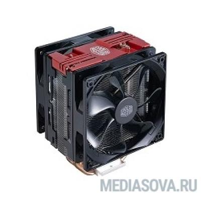 Cooler Master Hyper 212 Turbo Red LED, 600 - 1600 RPM, 150W, Full Socket Support RR-212TR-16PR-R1
