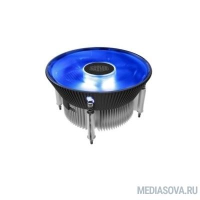 Cooler Master for Intel I70C PWM  (RR-I70C-20PK-R1) Intel 115*, 95W, Blue LED Fan, AlCu, 4pin