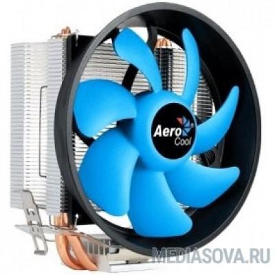 Cooler Aerocool Verkho 3 Plus  125W/ Intel 115*/AMD/ PWM/ Clip