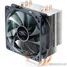 Deepcool GAMMAXX 400 BLUE BASIC Soc-FM2+/AM2+/AM3+/AM4/1150/1151/1155/ 4-pin 18-30dB Al+Cu 130W 640gr LED Ret