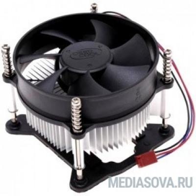 Cooler Deepcool CK-11508V2 Soc-1150/1155/1156, 3pin, 25dB, Al, 65W, 245g, screw