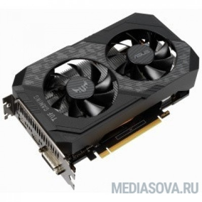 Видеокарта Видеокарта Asus PCI-E TUF-GTX1650-O4GD6-GAMING NVIDIA GeForce GTX 1650 4096Mb 128bit GDDR6 1410/6001 DVIx1/HDMIx1/DPx1/HDCP Ret