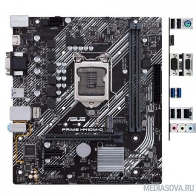 Материнская плата Материнская плата ASUS PRIME H410M-D RTL Socket-1200, Intel H410, 2xDDR4, 2xPCI-E+ PCI-E 16x, 4xSATA+ m.2, DVI+ VGA, Com