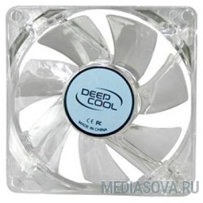 Case fan Deepcool XFAN 80L/B 80x80x25, 3 pin, 20dB, 1800rpm, 60g, blue LED