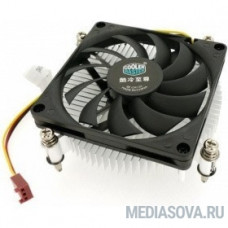 Cooler Master for Intel  H115 (DP6-8D1SA-B1)  Intel 115*, W, Al, 3pin, Ultra low profile