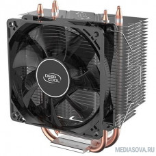 Deepcool GAMMAXX 300 FURY Soc-FM2+/AM2+/AM3+/AM4/1150/1151/1155/ 4-pin 18-21dB Al+Cu 130W 435gr LED Ret