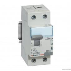 Legrand 403000 Выключатель дифференциального тока TX3 - 2П - 25 А - тип AC - 30 мА - 2 модуля