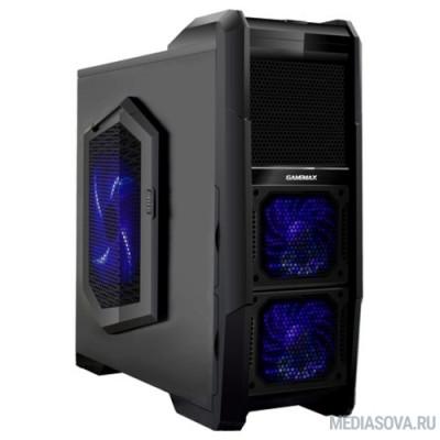 GameMax [M-901] без БП (Midi Tower, ATX, Black, Blue LED)