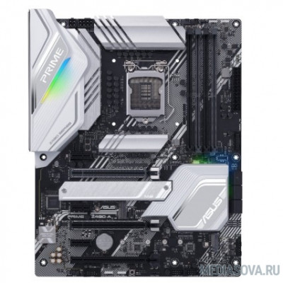 Материнская плата Материнская плата Asus PRIME Z490-A Soc-1200 Intel Z490 4xDDR4 ATX AC`97 8ch(7.1) 2.5Gg RAID