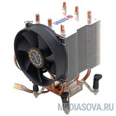 Cooler Titan (TTC-NK35TZ/RPW(KU)) для s775/K8/1366/1156 , 2600 rpm, аллюминий+медь+6 теплотрубок