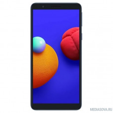 Смартфон Samsung SM-A013F Galaxy A01 Core 16Gb 1Gb синий моноблок 3G 4G 1Sim 5.3