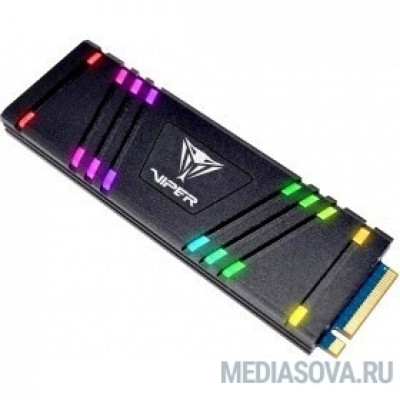 SSD Patriot M.2 2280 VIPER VPR100 RGB  512Gb VPR100-512GM28H TLC